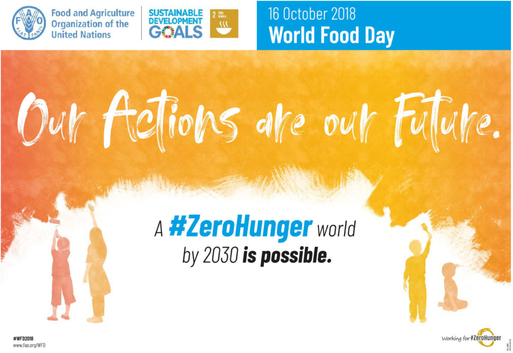 Food2030 zerohunger conference logo